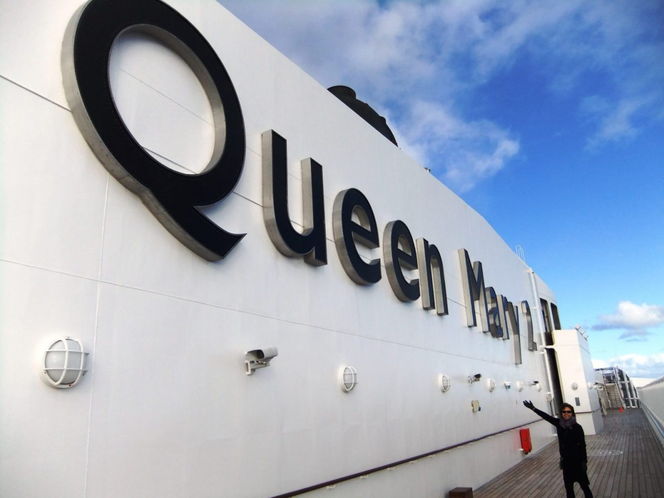 The Queen Mary: On board in the future