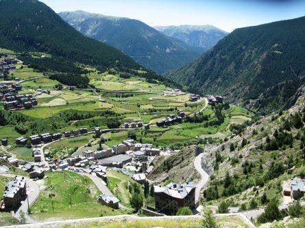 Andorra, Llivia,, Pyrenees, Catalunya