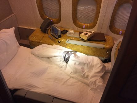 Frequent Flyer Points, Emirates First Class