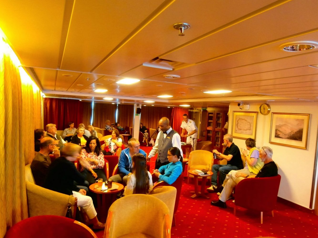 On board the RMS St Helena. A truly magical Journey
