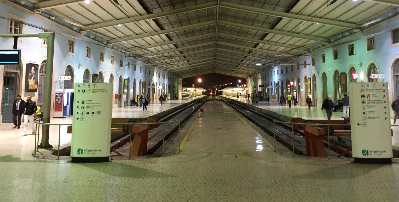 Overnight train, Lisbon to Madrid, Lusitania