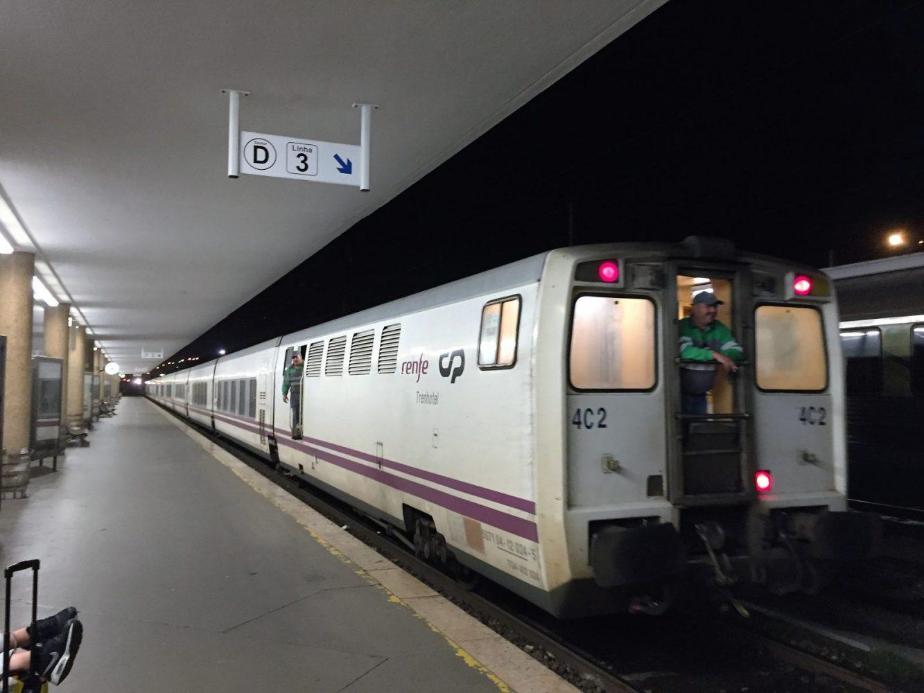 Lisbon to Madrid, Overnight Train, The Lusitania