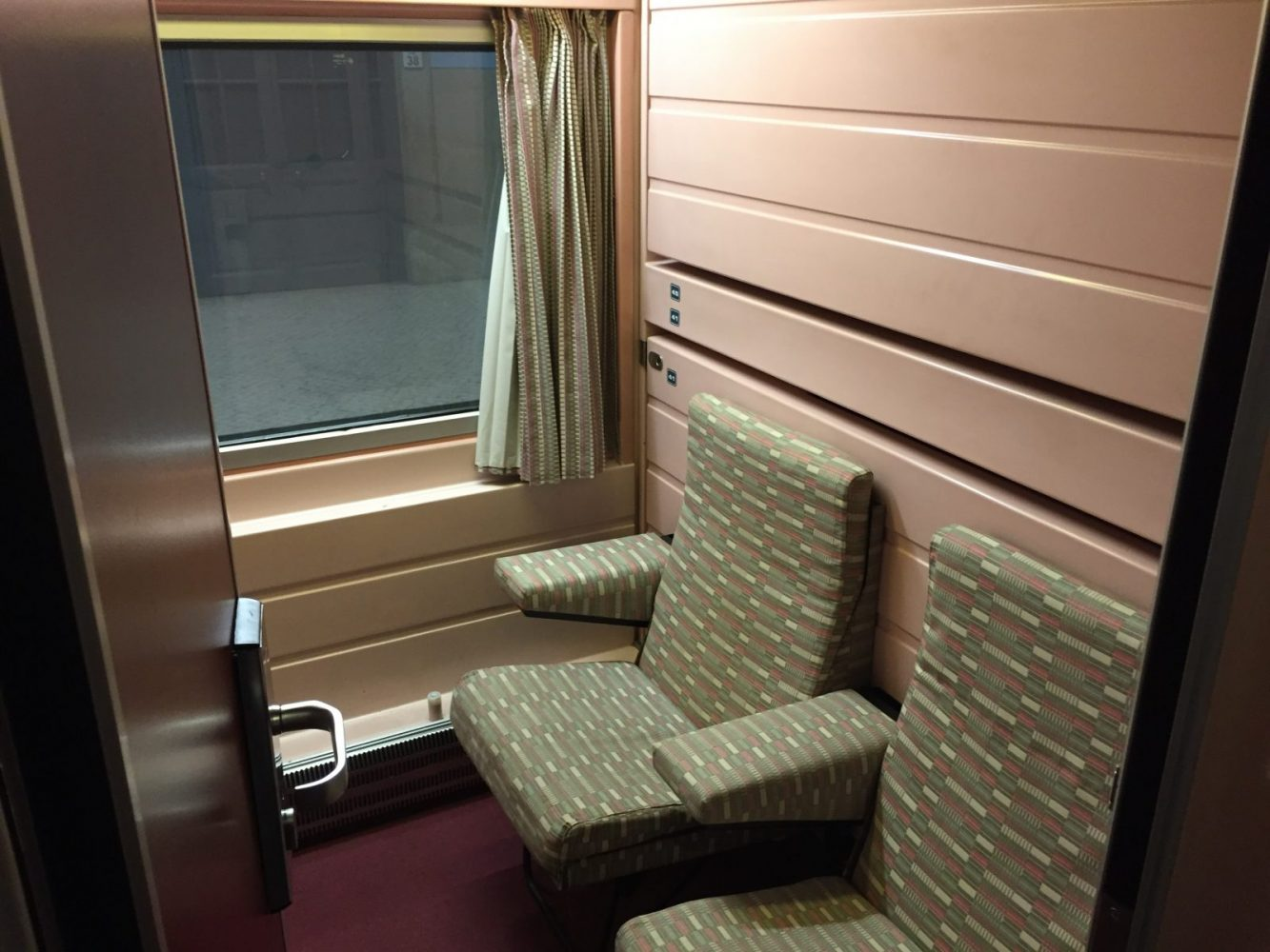 Lusitania, Lisbon to Madrid, Overnight Train