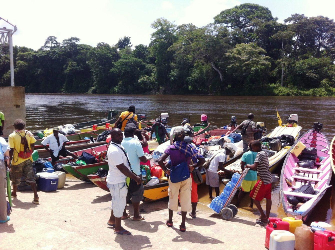 Upper Suriname River, Atjoni