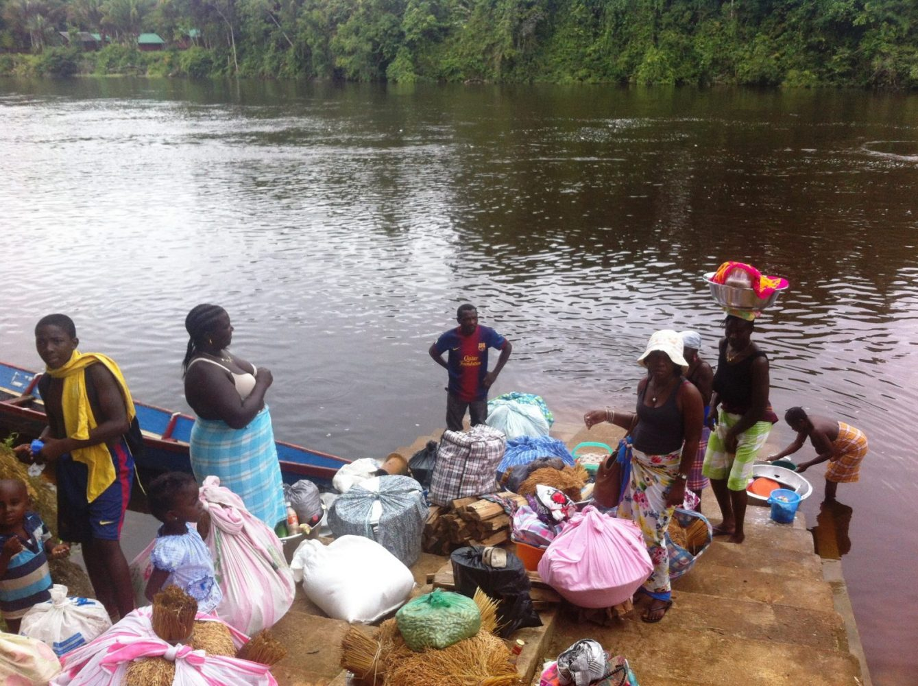 Upper Suriname River Funeral