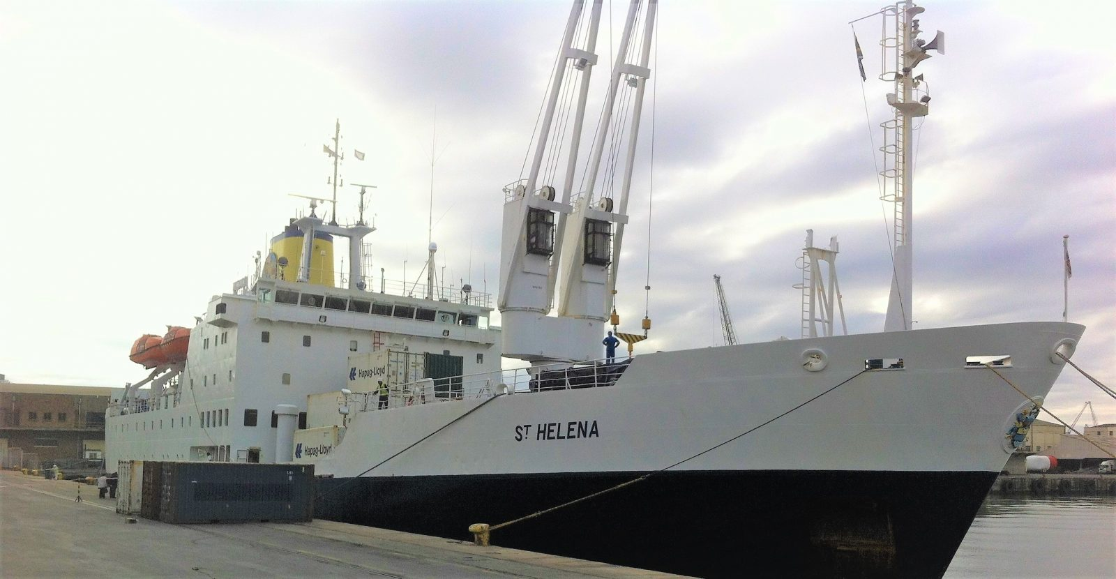 The RMS St. Helena