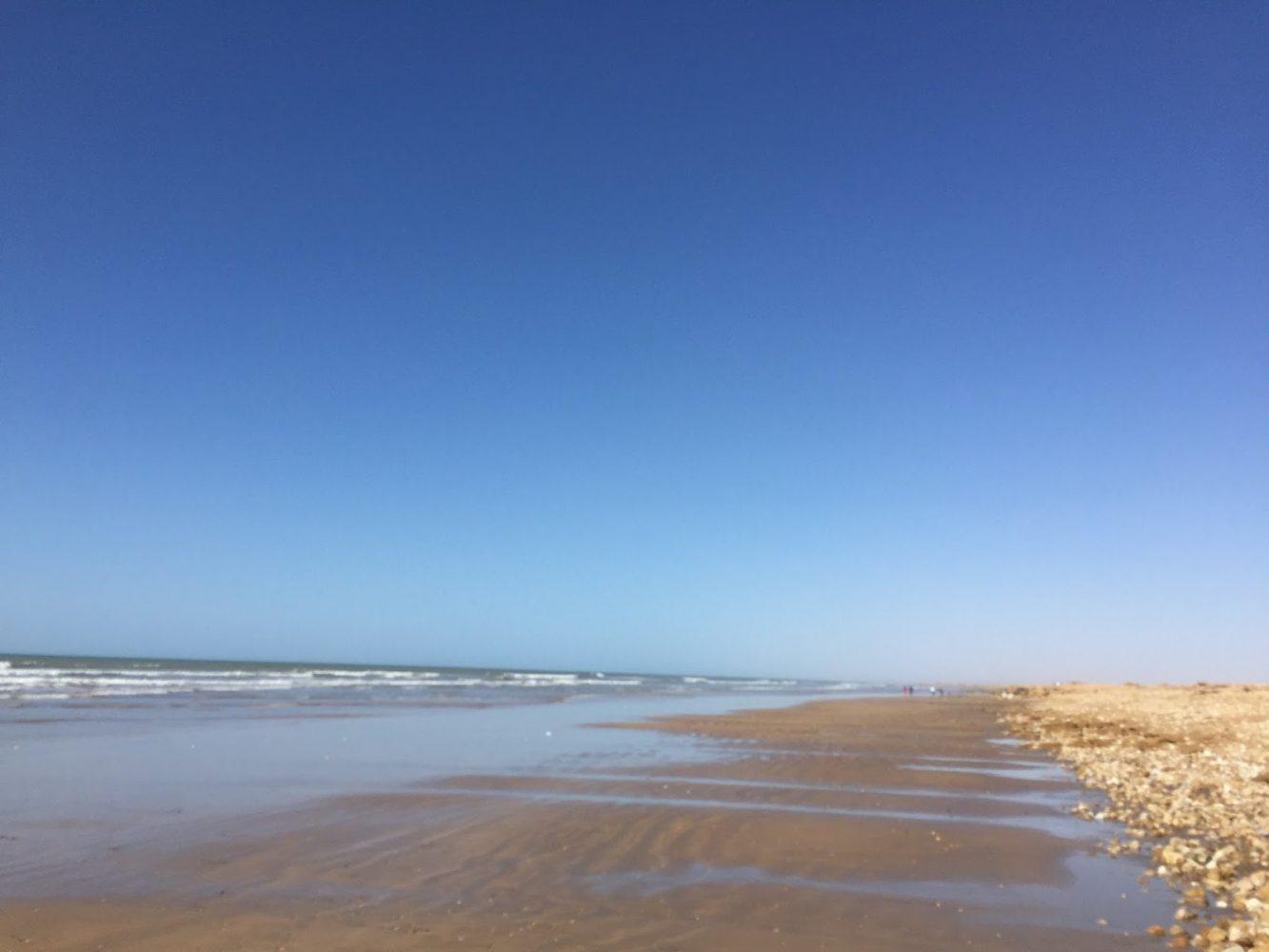 Western Sahara meets the Atlantic Ocean