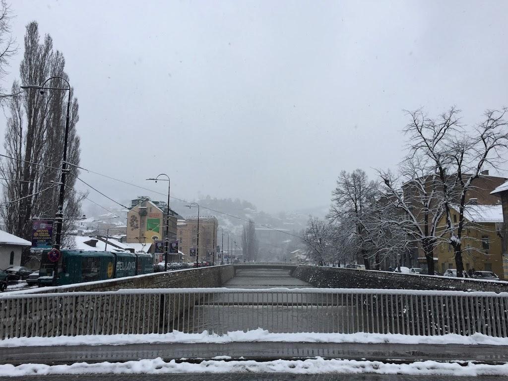 The Central River in Sarajevo