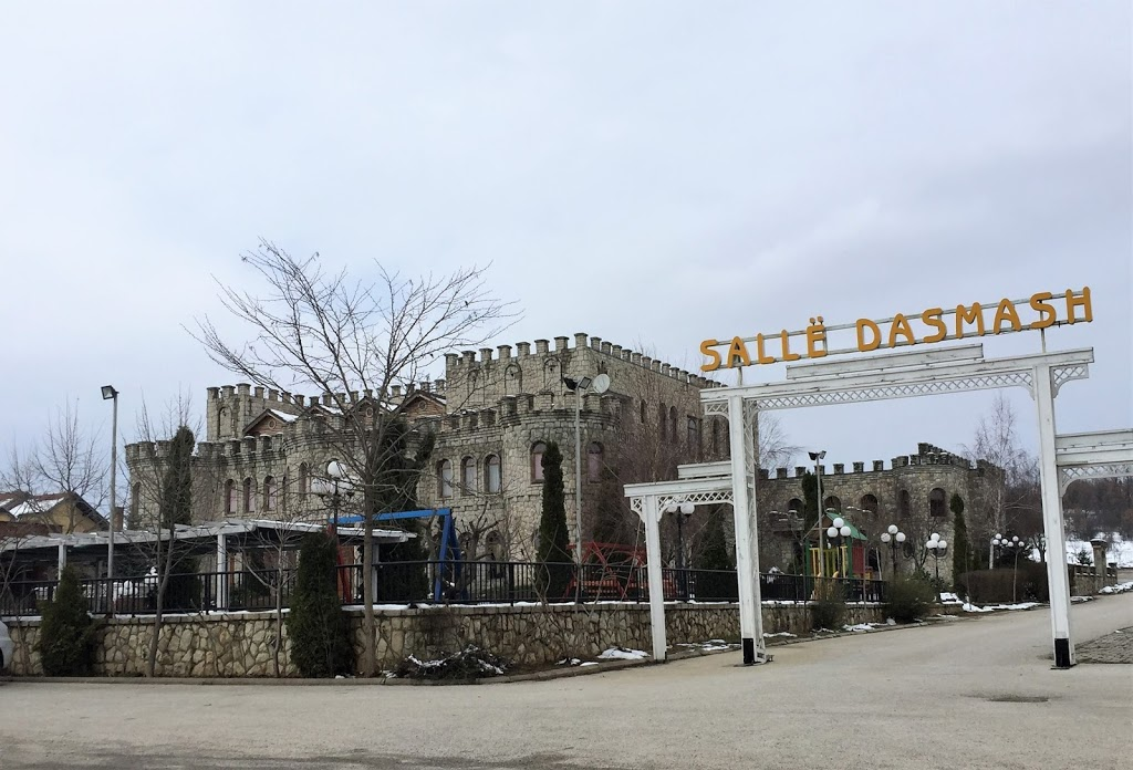 Wedding Venues and unfinished buildings punctuate the Kosovan landscape