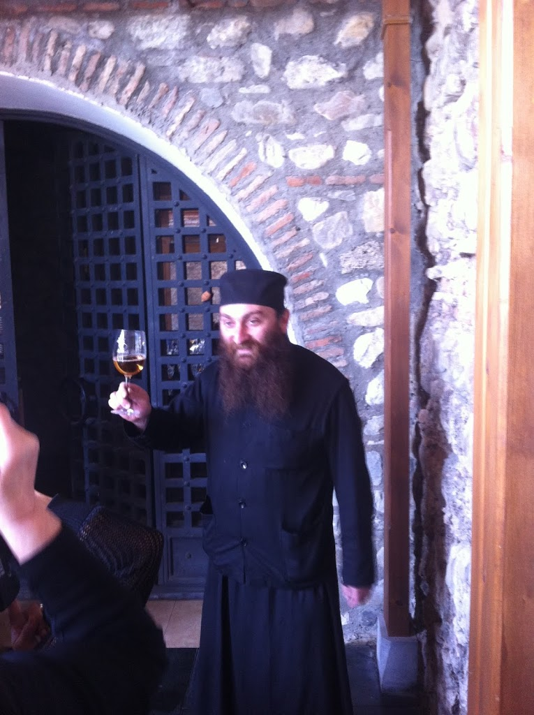 Father Gareshi, a master maker of Georgian Wine