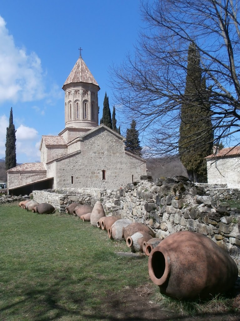 Qvevris, the clay pots in which Georgian Wine has been traditionally made