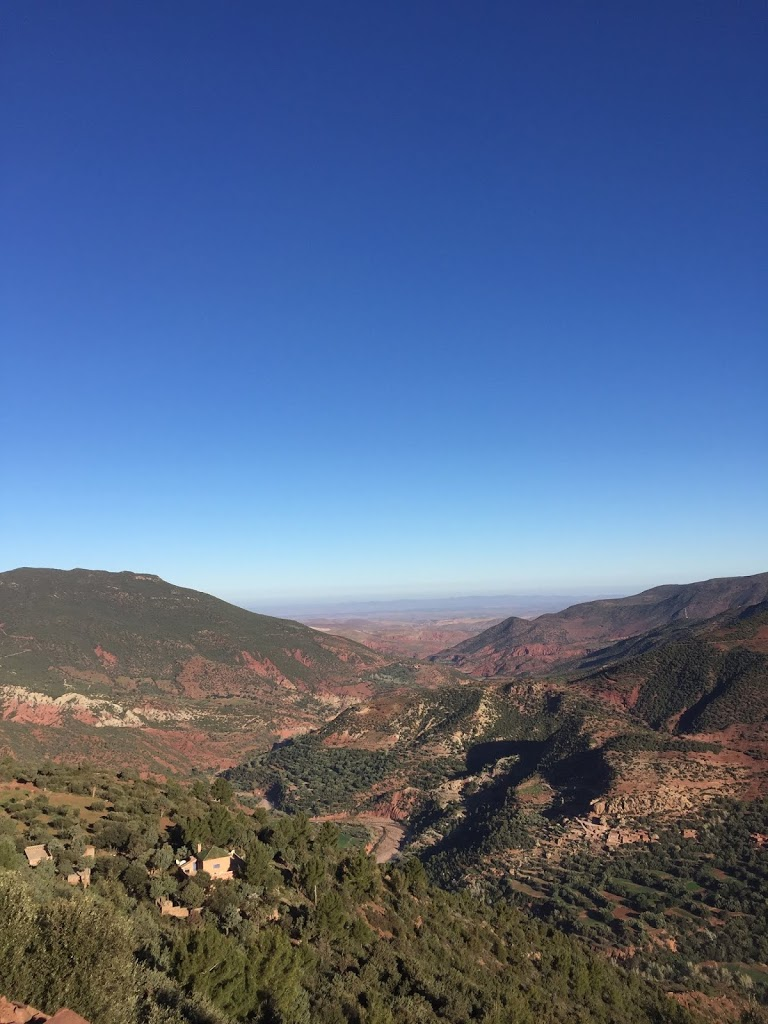 The High Atlas Mountains in Morocco