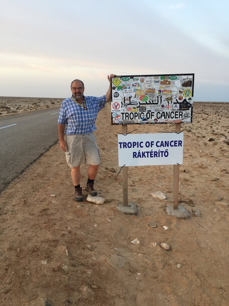 The Tropic of Cancer in Southern Morocco