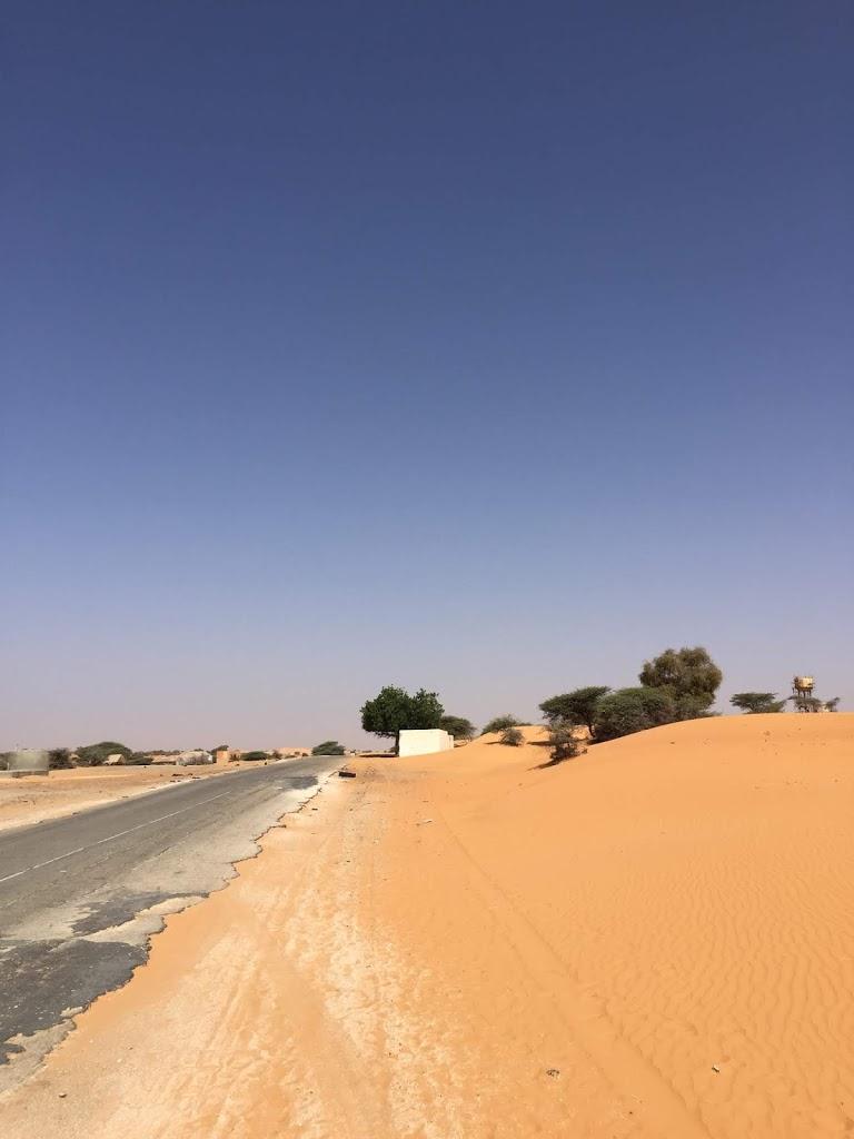 Sahara Desert Highway, Mauritania