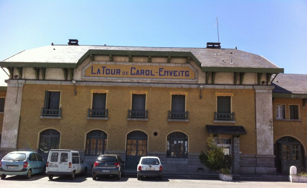 Train to Barcelona, Pyrenees, Catalunya, La Tour de Carol