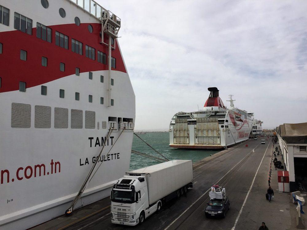 Grimaldi Ferry Mediterranean