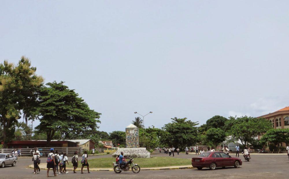 Downtown Sao Tome