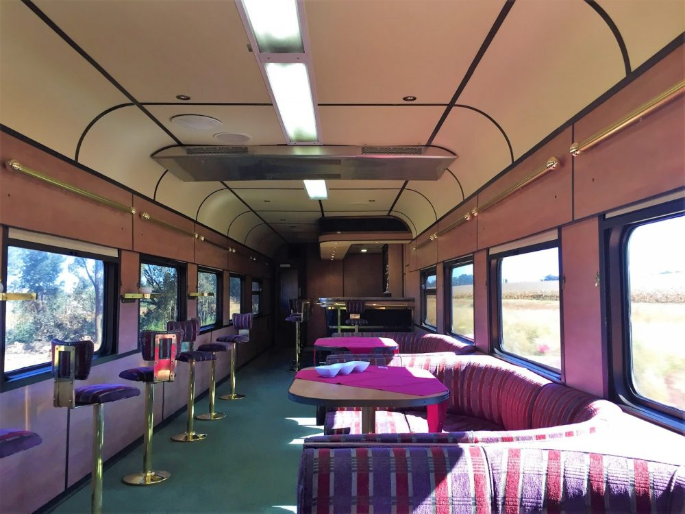 South African Railways;  Riding the Shosholoza Meyl