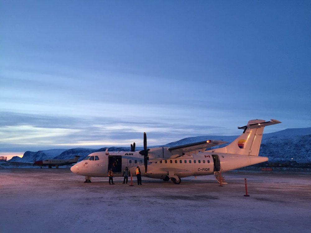 Arctic Canada, Qikiqtarjuaq, Iceberg, First Air
