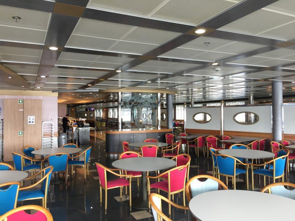 Mediterranean Ferry: Restaurant