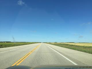 Driving, Yellowhead Highway, Prairies