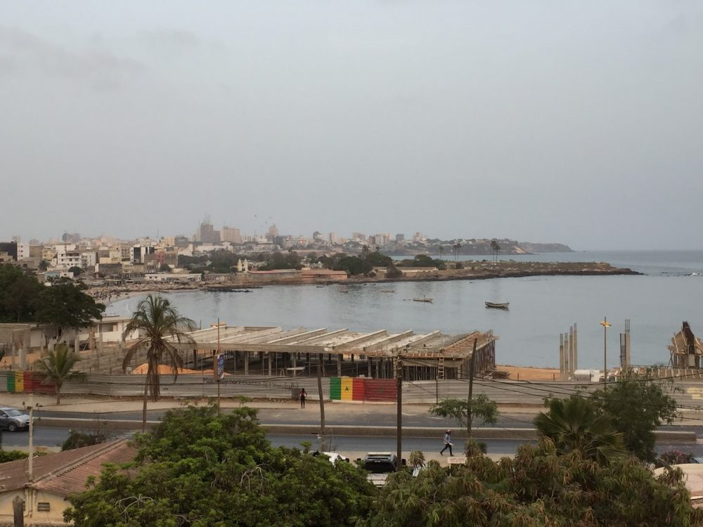 Dakar, the capital of Senegal